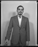 Sheikh Khalil Ben El-Raoif comes to America to study at a local high school, Los Angeles, 1936