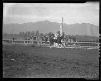 "Race horse ""Discovery"" wins $100,000 Santa Anita Handicap, Arcadia, 1936"