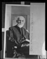 Reverend Erasmus Van Deerlin passes away at 89, Los Angeles, 1936