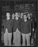 University of Redlands choir performs, Redlands, 1936