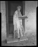 Dolores A. Connors is named curator of the old Pio Pico mansion, Whittier, 1936