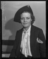 Myrtle L. Mantz sues A. Paul Mantz for a divorce, Los Angeles, 1936