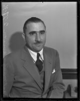 Paul Mantz faces divorce from his wife, Los Angeles, 1936
