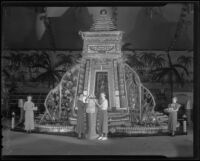 A display at the San Bernardino Orange Show, San Bernardino, 1936