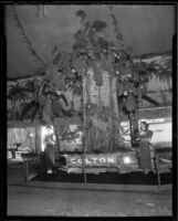 Elinor Brown at the National Orange Show, San Bernardino, 1936