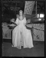 Orange Show Queen Bernardine Voorhess, San Bernardino, 1936