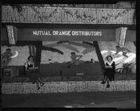A display at the San Bernardino Orange Show, San Bernardino, 1936