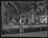 A display at the San Bernardino Orange Show, 1936