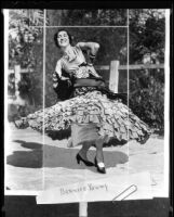 Bernice Young is to portray Ramona, Los Angeles, 1936