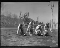Annual Women's Playground Outing at Griffith Park, Los Angeles, 1936