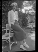 Christine Peters, to marry George McNeish, Los Angeles, 1936