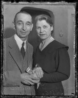 Mr. and Mrs. James Roy Willis inherit a $10,000,000 estate, Los Angeles, 1936