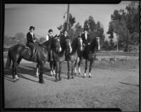 California Women of the Golden West on horseback, Los Angeles, 1935