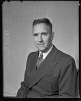Los Angeles Times columnist Bill Henry, Los Angeles, ca. 1936