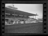 Finished stands at the Santa Anita race track, Arcadia, ca. 1934