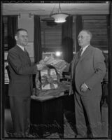 Supervisors Gordon L. McDonough and Herb Prince, Los Angeles, 1935