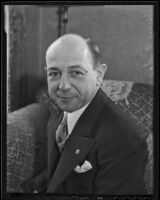 BRR Paraguayan Consul Henry A. dae English, Los Angeles, 1935