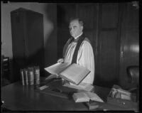 Reverend George Davidson, Los Angeles, ca. 1930s
