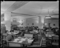 Dining room of Stock Exchange Club, Los Angeles, 1935