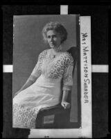 Eva Shrader, 1890-1910
