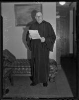 Judge Charles S. Burnell, Los Angeles, 1936