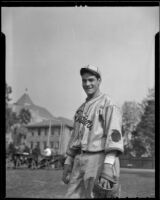 Joe Gonzales of the USC Trojans, Los Angeles, 1936