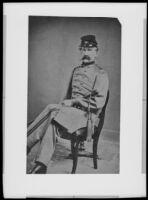 "Anders Samuel ""Fabian"" Brydolf, copy print of a circa 1865 photograph"
