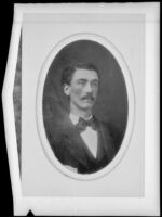 James Butler Hutchinson, who traveled with the Butler Train as a baby in 1853, photograph copied 1935-1942