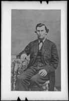 Ira F. M. Butler, who traveled with the Butler Train in 1853, photograph copied 1935-1942