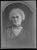 Margaret Leeper, who may be related to an account of the 1853 Butler Train to Oregon, circa 1871, photograph copied in 1939