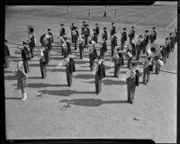 Glendale High School Marching Band, Glendale, 1936