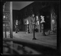 Art gallery in the Leland Stanford Jr. Museum, Palo Alto, 1898
