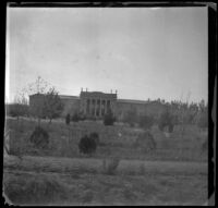 Leland Stanford Jr. Museum, viewed from a distance, Palo Alto, 1898