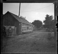 Yreka Bakery, viewed at an angle, Yreka, 1898