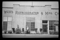Ward Refrigerator and Manufacturing Company where Henry H. West, Jr. had worked, Los Angeles, 1940