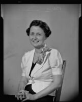 Barbara Miller, international reporter, relates her travels, Los Angeles, 1936-1938