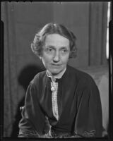 National Youth Administration director Dr. Mary H. S. Hayes, Los Angeles, 1936