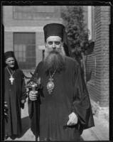 Archbishop Athenagoras visits Los Angeles, 1936
