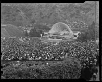 Easter morning at the Hollywood Bowl, Los Angeles, 1936