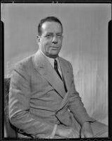 Hugo H. Harris appointed to Veterans Welfare Board, Los Angeles, 1936
