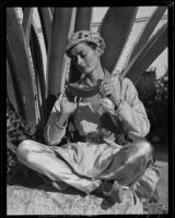 Peggy Wheeler as Aladdin, Santa Barbara, 1936