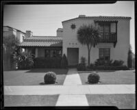 Thomas H. Robinson, Jr.'s Santa Monica hideout, 1936