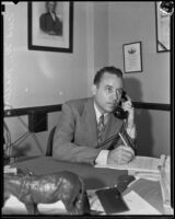 Fred W. Marlow, district director of Southern California Federal Housing Administration, Los Angeles, 1930s