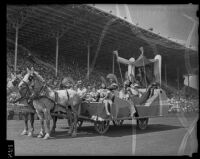 Queen Califia at Los Angeles County Fair, Pomona, 1936