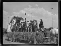 Parade float at the Los Angeles County Fair, Pomona, 1936