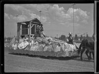 Parade float at the Los Angeles County Fair, Pomona, 1936