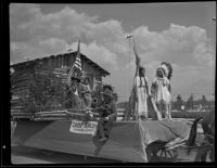 Camp Baldy Historical Society parade float at Los Angeles County Fair, Pomona, 1936