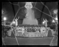 Los Angeles county exhibit at the L. A. County Fair, Pomona, 1936
