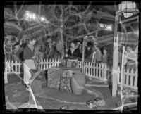 Metalwork demonstration at the Los Angeles County Fair, Pomona, 1936
