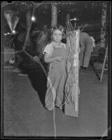 Marilyn Maag at the Los Angeles County Fair, Pomona, 1936